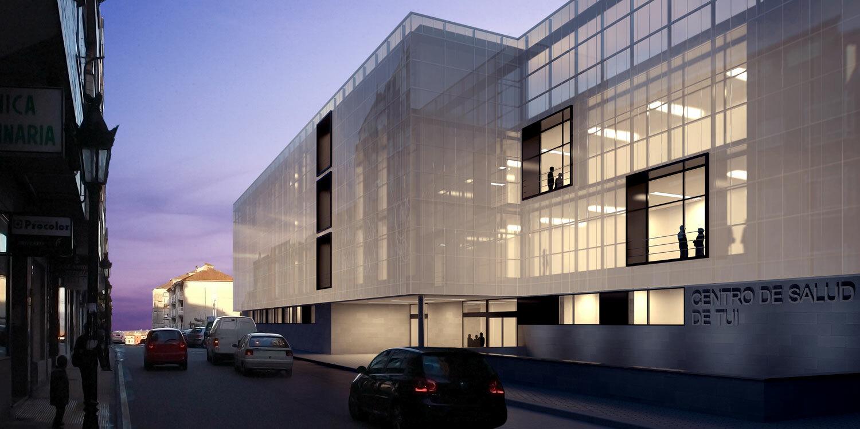 Centro de salud d az d az arquitectos a coru a madrid - Fachadas arquitectura ...