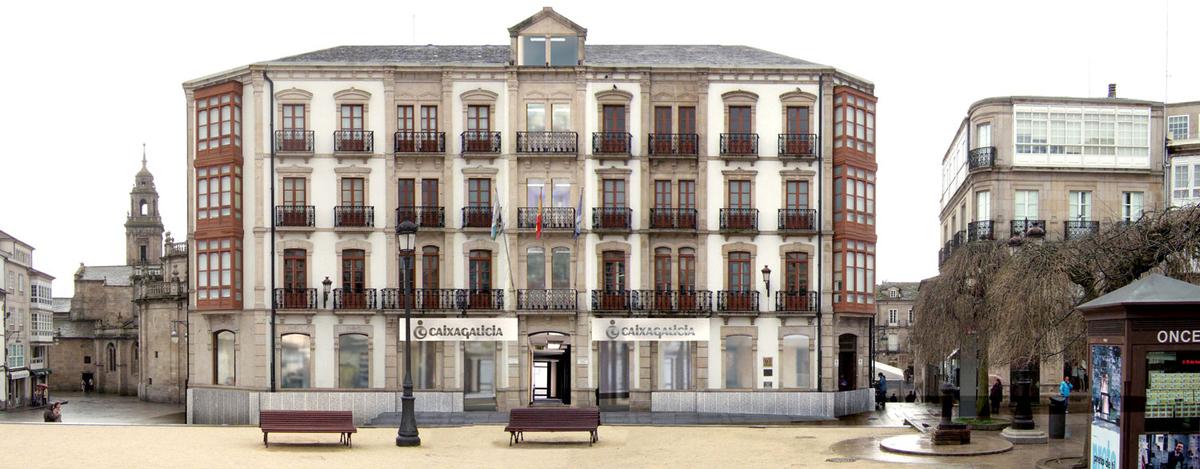 fundacion caixa galicia la coruna: