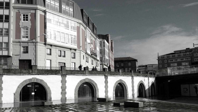 Baluarte del parrote d az d az arquitectos a coru a - Caja arquitectos madrid ...