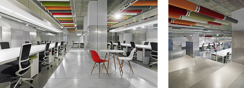 Vivero de empresas Papagayo | Díaz & Díaz Arquitectos. A Coruña, Madrid.