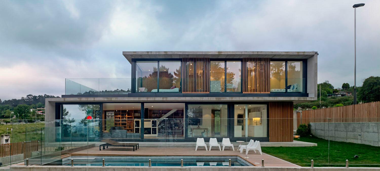 Revista dise o interior n 277 vivienda en punta canide - Viviendas unifamiliares modernas ...