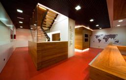 Portfolio d az d az arquitectos a coru a madrid for Blau hotels oficinas centrales