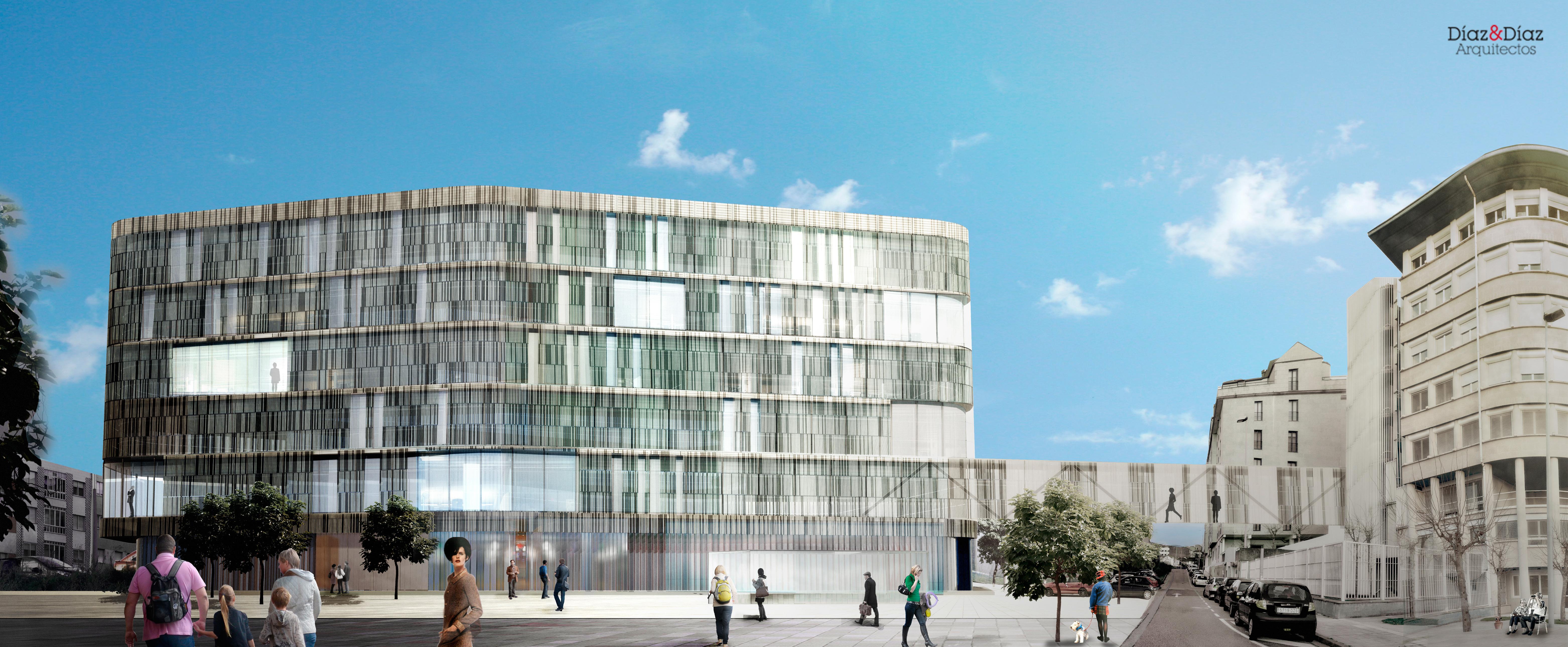 Nuevo edificio judicial d az d az arquitectos a - Arquitectos en pontevedra ...