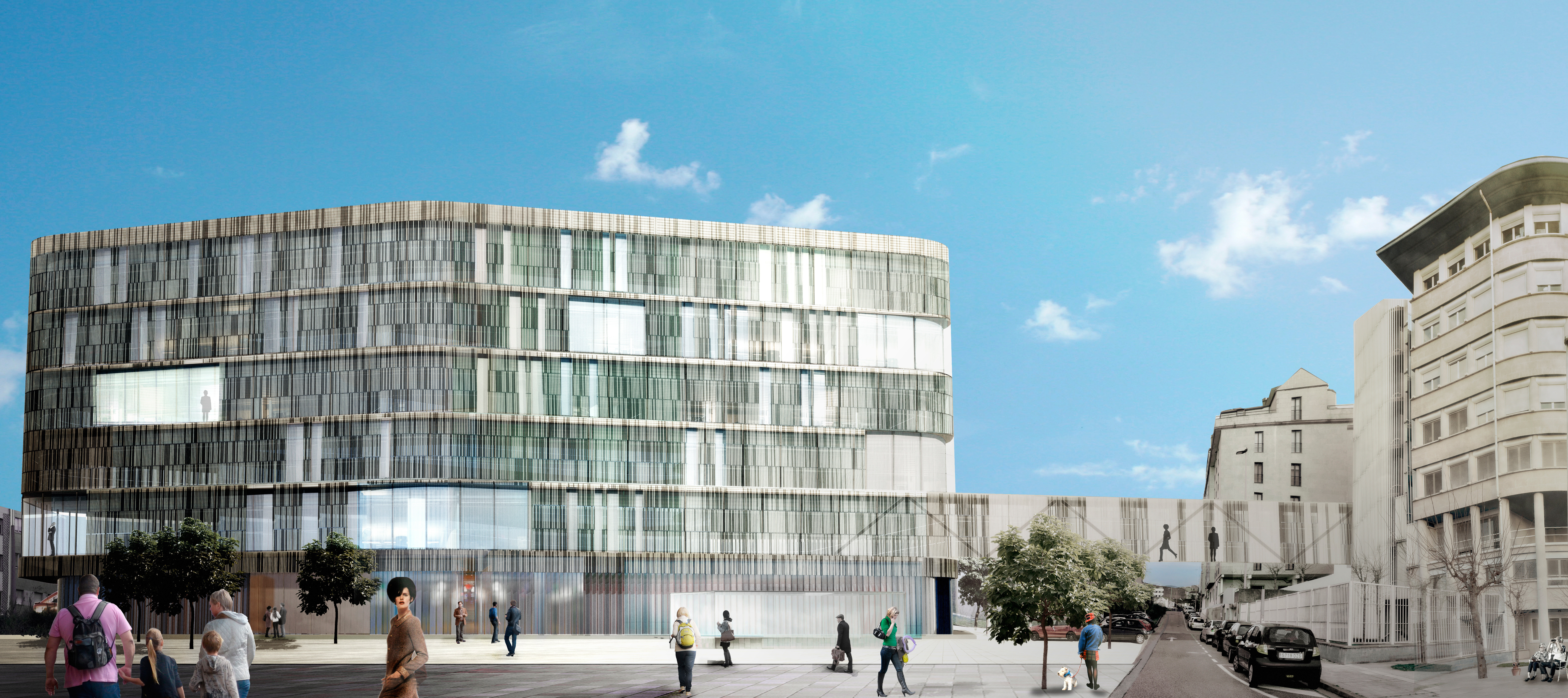 Portfolio d az d az arquitectos a coru a madrid - Arquitectos en pontevedra ...